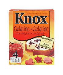 gelatina-knox